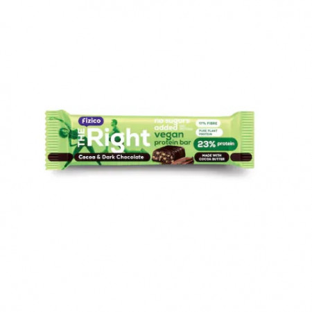 Baton proteic vegan cu cacao 40g SLY