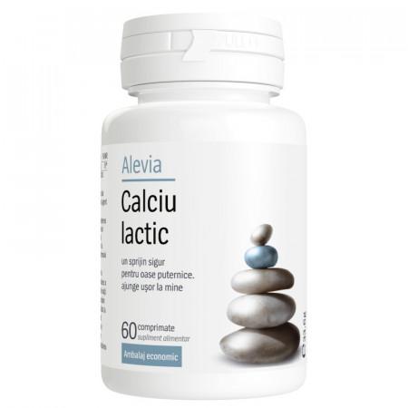 Calciu lactic x60cp Alevia
