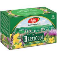 Hepatocol ceai 20 plicuri Fares