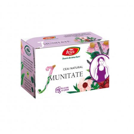 Imunitatea ceai dz 20 plicuri Fares
