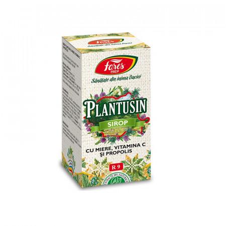 Plantusin sirop miere+propolis 100ml Fares