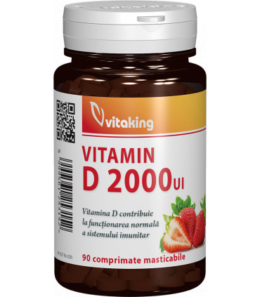 Vitamina D 2000UI 90cpr VItaking