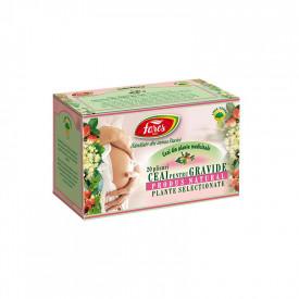Ceai pentru gravide 20 plicuri Fares