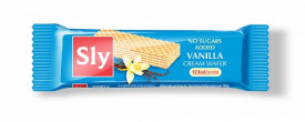 Napolitane cu crema vanilie fara zahar 20gr Sly