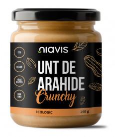 Niavis unt de arahide crunchy eco/bio 250g