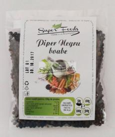 Piper negru boabe 50g Super Foods