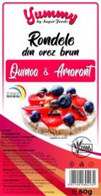 Rondele quinoa si amarant 60g Super Foods