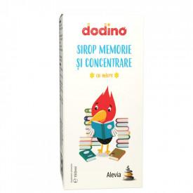Sirop memorie si concentrare x150ml Dodino Alevia