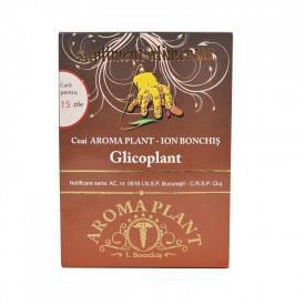 Ceai glicoplant cura 15zile 160g