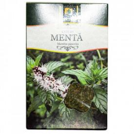 Ceai menta frunze 50gr Stefmar