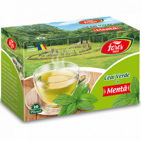 Ceai verde cu menta 20dz Fares
