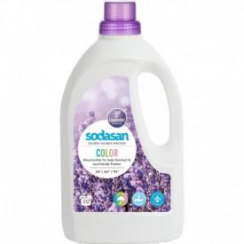 Detergent lichid rufe albe si color lavanda 1.5L Sodasan