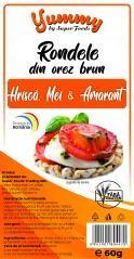 Rondele orez mei, hrisca, amarant 60g Super Foods