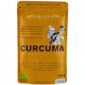 Curcuma pulbere Eco 100g Republica Bio