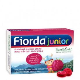 Fiorda junior zmeura 15cpr Plant Extrakt