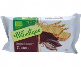 Napolitana cu crema cacao Eco 40gr Sly