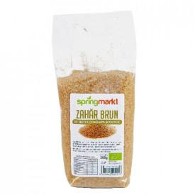 Zahar brun ecologic demarara din trestie de zahar 500gr