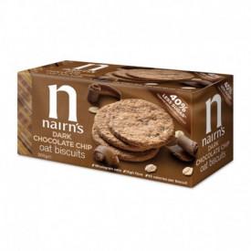 Fursecuri din ovaz integral cu bucati de ciocolata 200g Nairn's