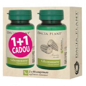 Pachet glicemonorm 60cpr 1+1(cadou) Dacia Plant
