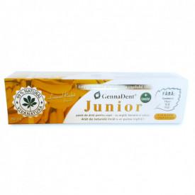 Pasta dinti gennadent junior banan 80ml Viva Natura