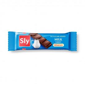 Tableta(ciocolata) lapte 25g Sly