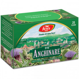Anghinare ceai 20 plicuri Fares