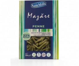 Paste din mazare fara gluten & haigh protein penne SamMills