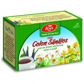 Colon sanatos ceai 20 plicuri Fares