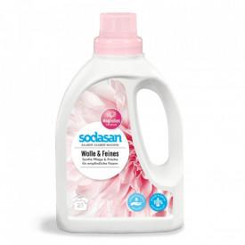 Detergent bio pentru lana, matase si rufe 750ml Sodasan