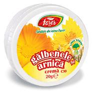 Galbenele + Arnica crema 20g Fares