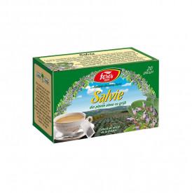Salvie ceai 20 plicuri Fares