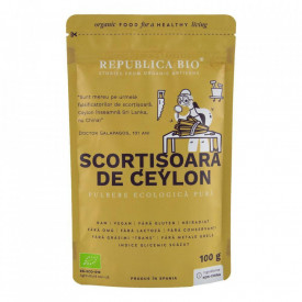 Scortisoara de ceylon Eco 100g Republica Bio