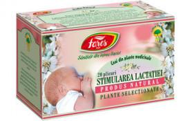 Stimularea lactatiei ceai 20 plicuri Fares