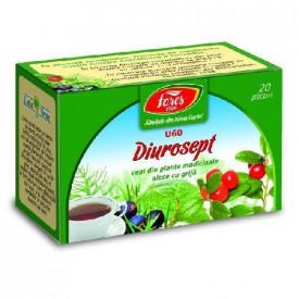 Diurosept ceai 20 plicuri Fares