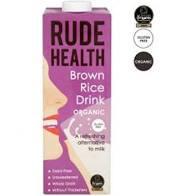 Lapte vegetal din orez brun organic cu apa de izvor 1L Rude Health