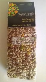 Mix seminte pentru paine 250g Super Foods
