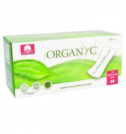Organyc bio absorbante zilnice maxi din bumbac organic 20buc