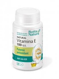 Vitamina E natural 100 u.i 30cps Rotta Natura