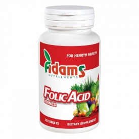 Acid folic 400mg. 30 tab.
