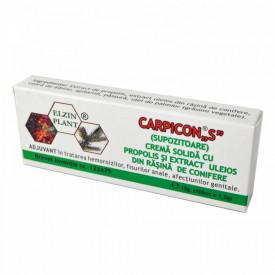 Carpicon S supozitoare 10x 1.5g Elzin