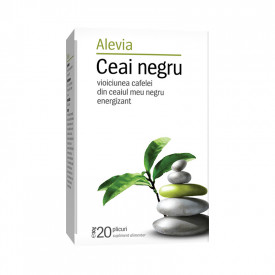 Ceai negru x20 plicuri Alevia