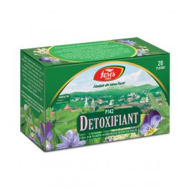 Detoxifiant ceai 20 plicuri Fares