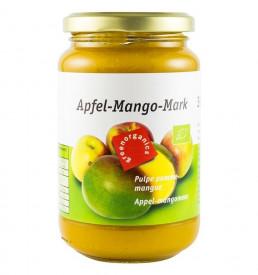 Eco/Bio green organics piure de mere cu mango 360g Pronat