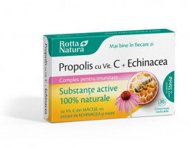 Propolis + Vitamina C + Echinaceea 30cps Rotta Natura