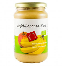 Eco/Bio green organics piure din mere si banane 360g