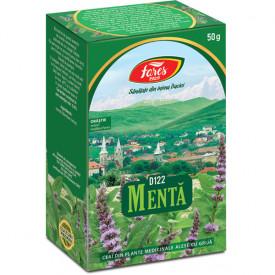 Menta ceai pg 50g Fares
