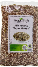 Mix seminte super omega 250gr Super Foods