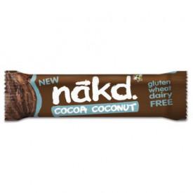 Baton de cacao si nuca de cocos Nakd 35g