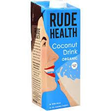 Lapte vegetal din cocos organic cu apa de izvor 1L Rude Health