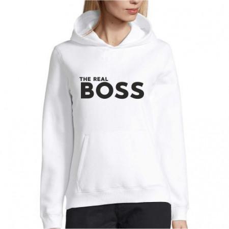 Hanorac personalizat The Real Boss